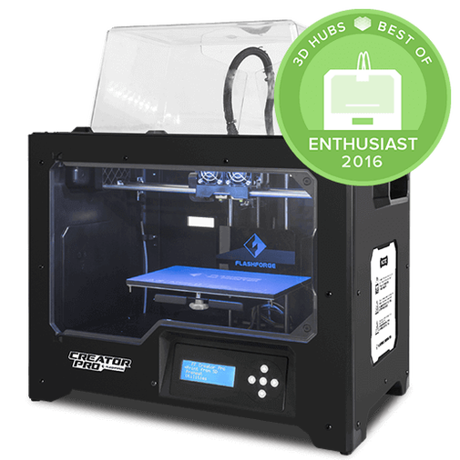 Flashforge Creator Pro  - Open Source 3D Printer  with dual nozzles