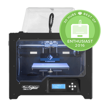 Flashforge Creator Pro  - Open Source 3D Printer front side